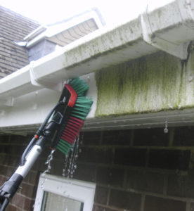 clear guttering and clean soffets contact us now